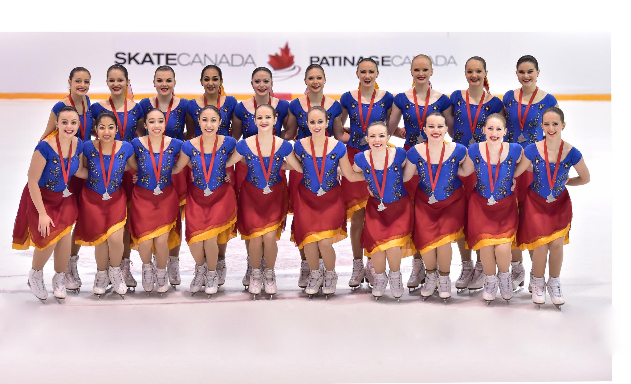 NEXXICE Novice 2015-2016 Canadian Silver Medalist