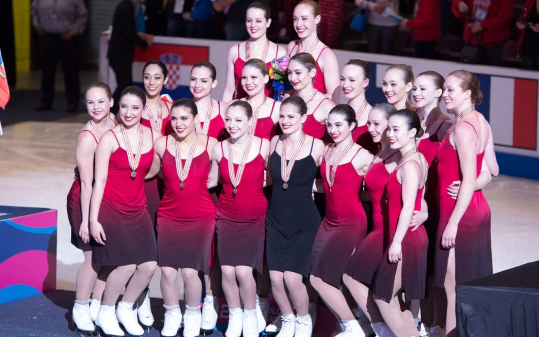 NEXXICE Senior wins bronze medal at 2017 World Synchronized Skating Championships