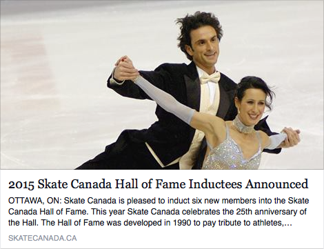 Skate Canada Hall of Fame to Induct Members of the 2009 World Champion Team