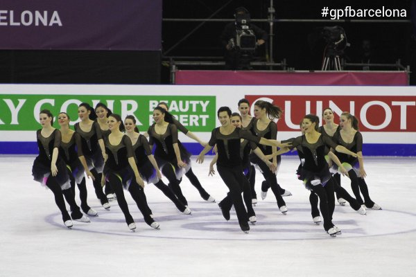 NEXXICE wins bronze at the ISU Grand Prix in Barcelona, Spain