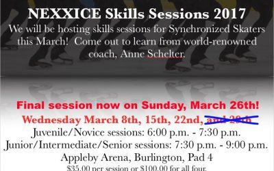 NEXXICE Skills Camps