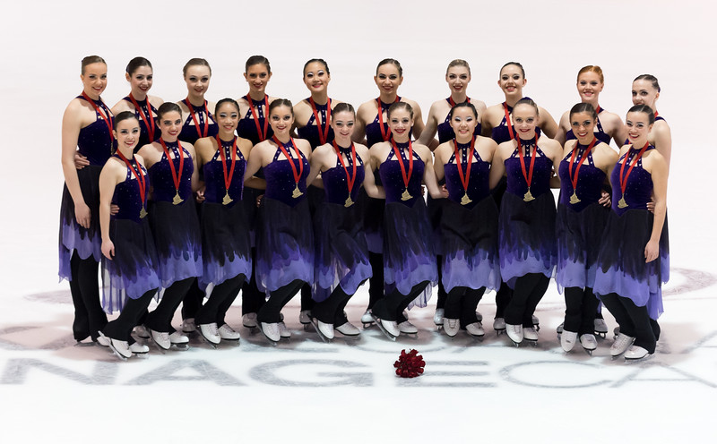 Nexxice collects third crown, Les Suprêmes triumph twice at 2017 Skate Canada Synchronized Skating Championships